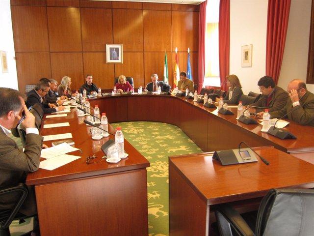 Reunión De Hoy De La Junta De Portavoces Del Parlamento