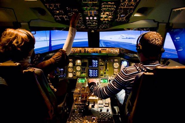 Simulador aéreo