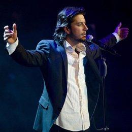 Manuel Carrasco, en concierto en Málaga