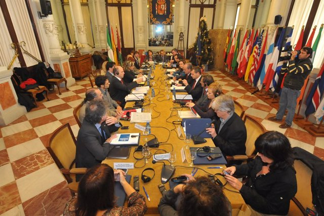 Reunión Sobre El Sello Europeo En Málaga