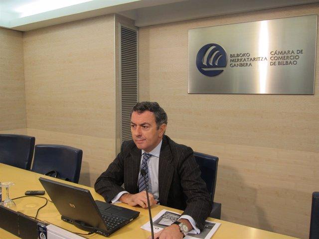 Presidente De La Cámara De Comercio De Bilbao, José Angel Corres
