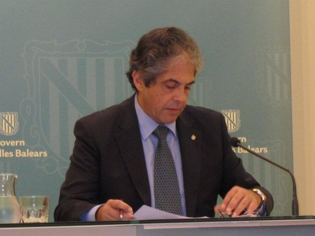 El Portavoz Del Govern, Rafel Bosch