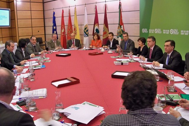 Reunión de la ejecutiva del PNV en Sabin Etxea