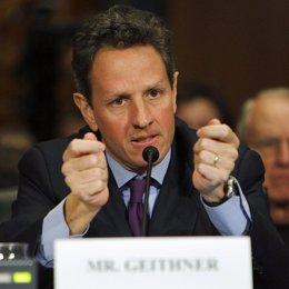Timothy Geithner, secretario del Tesoro
