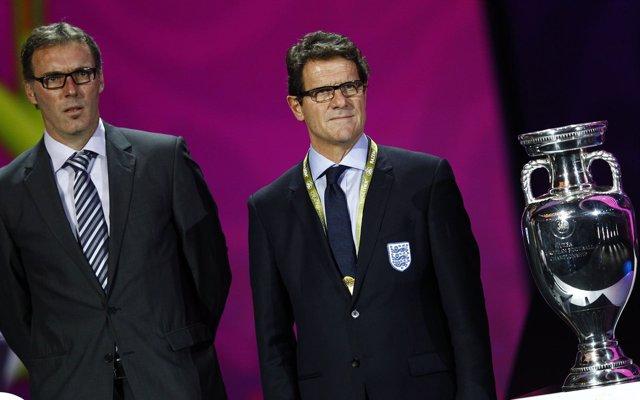 Laurent Blanc Y Fabio Capello