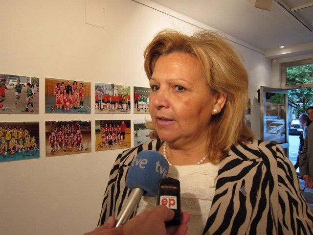 Ángeles Pedraza, Presidenta De La AVT