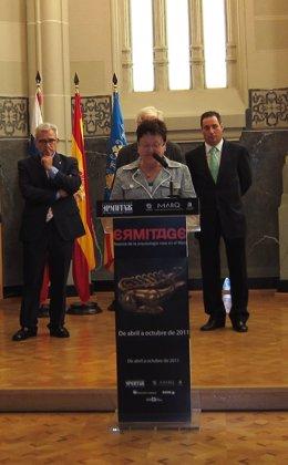 Luisa Pastor Durante una Intervención