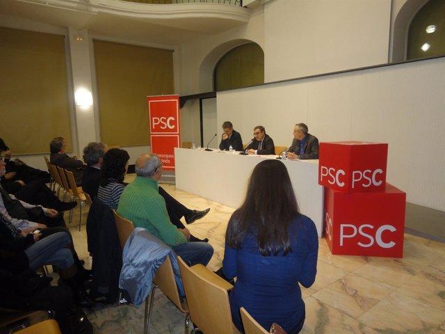 Presentación De La Candidatura De Pere Navarro Al Congreso En Lleida