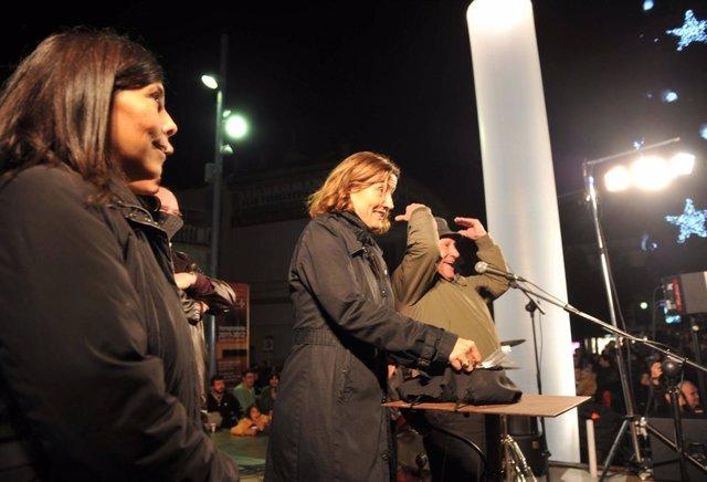 La Alcaldesa De Sant Cugat Presenta Las Luces De Navidad
