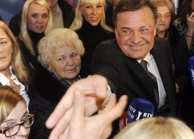 Líder Del Partido Eslovenia Positiva, Zoran Jankovic