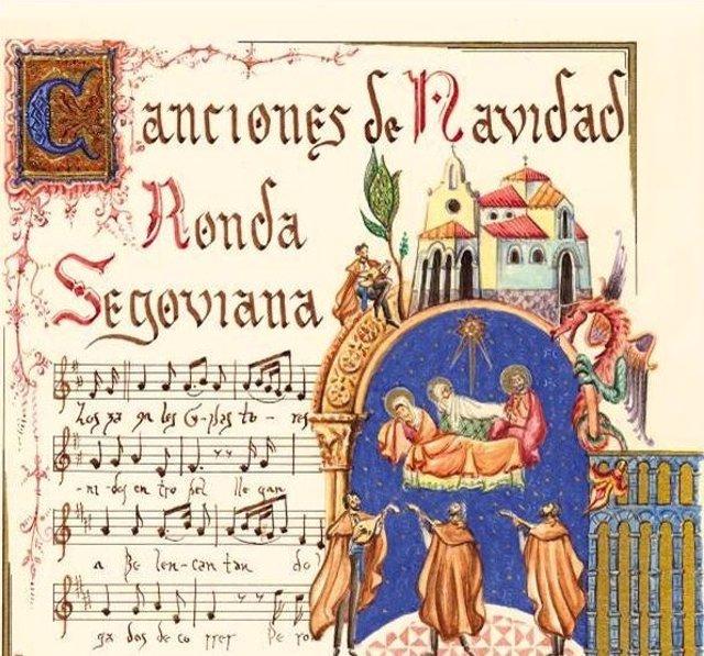 Portada Del Disco De Canciones De Navidad De La Ronda