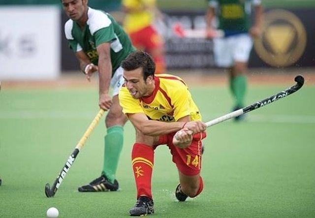 España Y Pakistán De Hockey Hierba En El Champions Trophy
