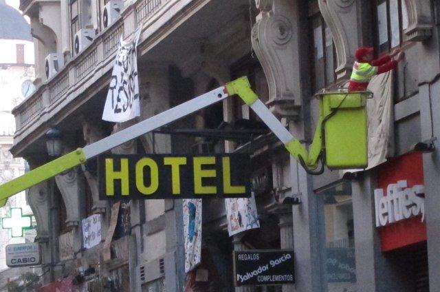Hotel Madrid Desalojado