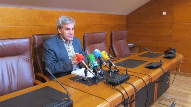 Rafael De La Sierra, Portavoz Parlamentario Del PRC