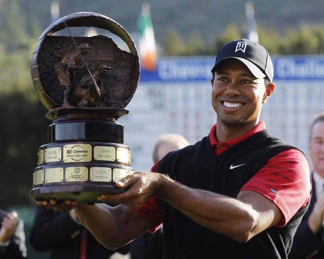 Tiger Woods Gana El Chevron World Challenge