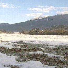 Imagen de archivo de una nevada