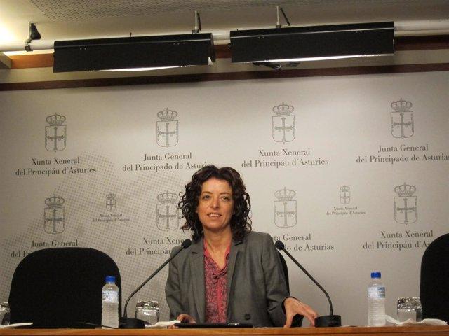 La Diputada Socialista Clara Costales