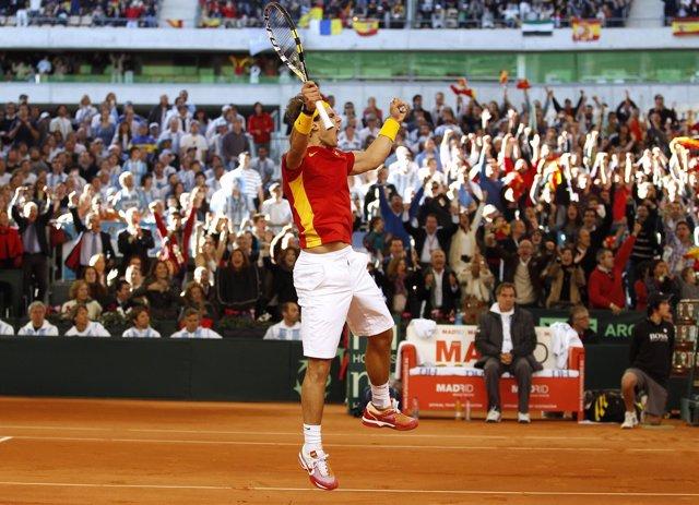 Rafa Nadal En La Final De La Copa Davis