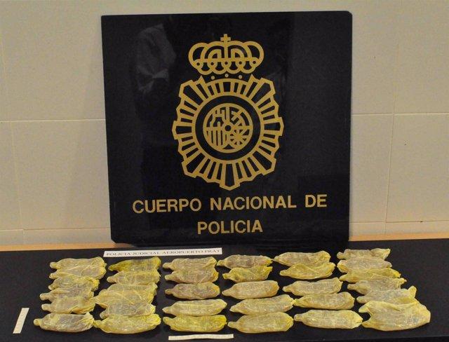Cocaína Interceptada En El Prat