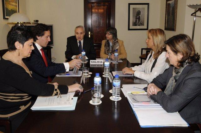 Reunión De CCAA Sobre Pesca En Madrid.