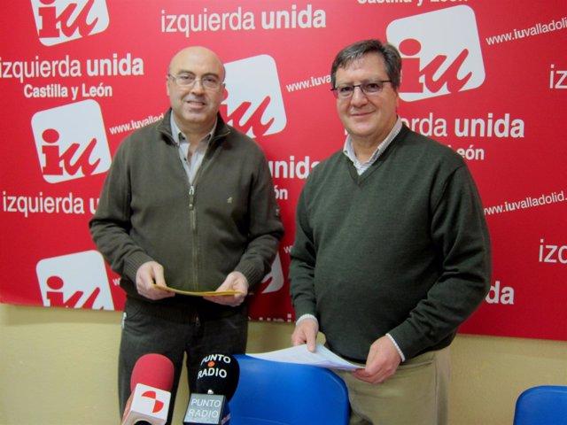 Salvador Arpa Y Javier Gutiérrez, Presentando Las Cuentas De IU