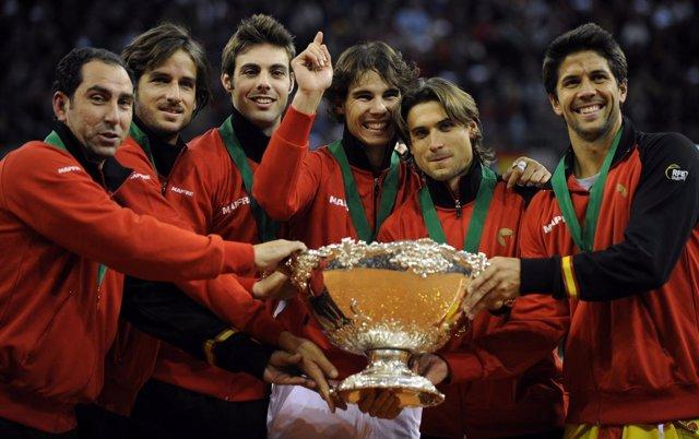 España Gana La Copa Davis