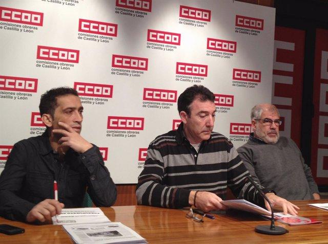 Rueda De Prensa De Ángel Hernández