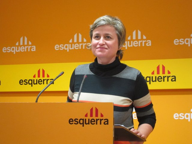 La Portavoz De ERC, Anna Simó