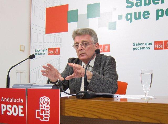 El Secretario Provincial Del PSOE De Cádiz, Francisco González Cabaña