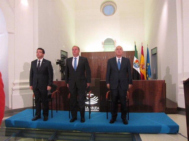 Manzano, Monago Y Márquez De Prado