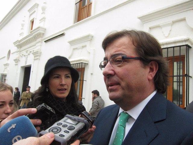 Fernández Vara Tras El Acto De La Constitución