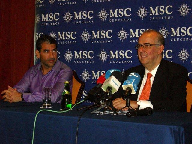 Presentación En Málaga De La Temporada 2011-2012 De MSC Cruceros