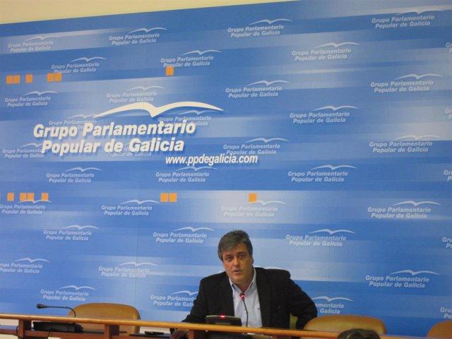 El Portavoz Del Ppdeg En El Parlamento, Pedro Puy