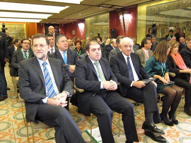 Mariano Rajoy, Lorenzo Amor Y Francisco González