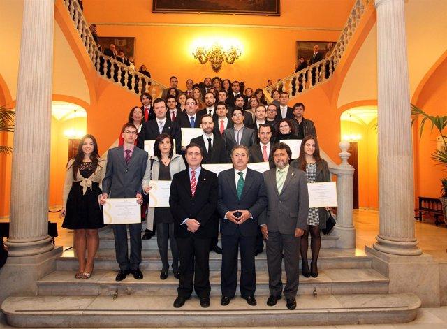 Entrega De Premios Del Ayuntamiento De Sevilla A Investigadores De La US