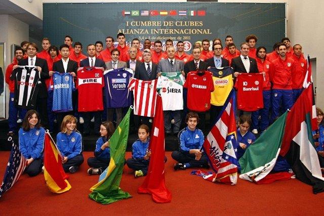 Cumbre Internacional De Clubes Del Atlético De Madrid