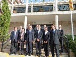 Delegación China En Su Visita Al Imedea.