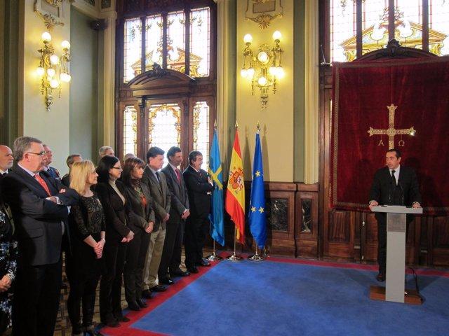 Actos Del Día De La Constitución 2011 En La Junta General