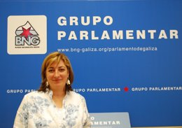 Isabel Sánchez Montenegro, diputada del BNG