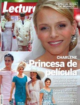 Charlene De Mónaco En La Portada De 'Lecturas'