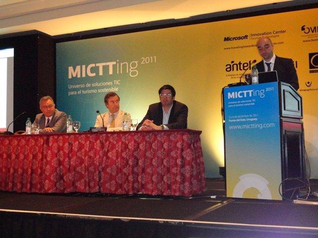 Inauguración Del Mictting 2011 En Uruguay.