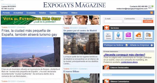La Nueva Web Expogays Magazine.