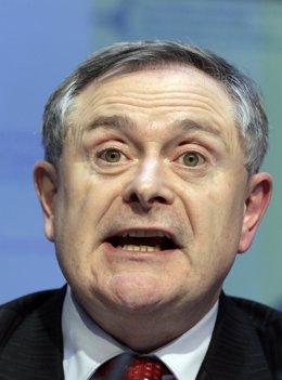 Ministro Irlandés De Gasto Público, Brendan Howlin