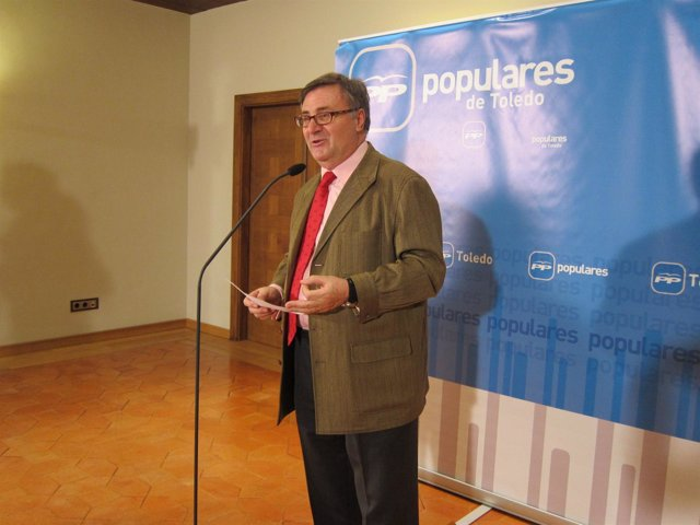 El Presidente Del PP En Toledo