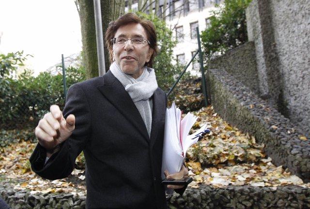 Líder De Los Socialistas Francófonos De Bélgica, Elio Di Rupo