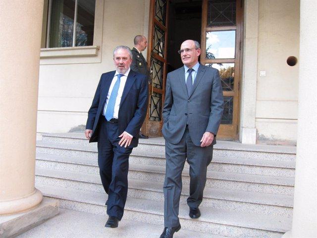 Consejeros De Salud Riojano Y Vasco, José Ignacio Nieto Y Rafael Bengoa