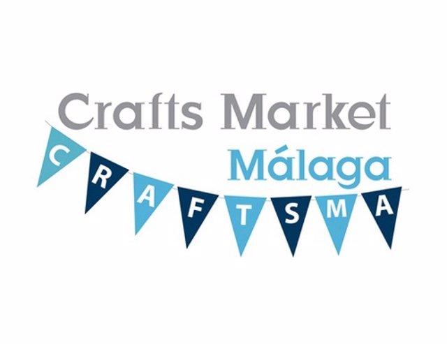 Logotipo De Crafts Market Málaga, Muestra De Emprendedores Y Diseñadores