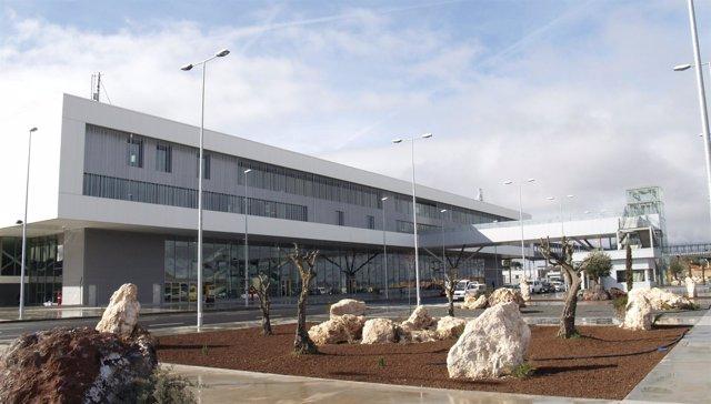 Edificio del aeropuerto de Ciudad Real