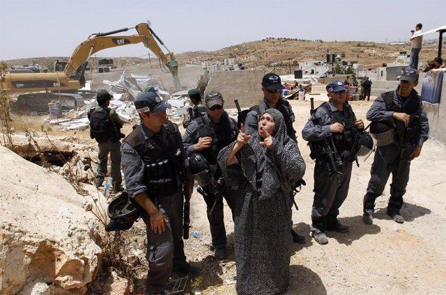 Demolición de viviendas palestinas en Jerusalen