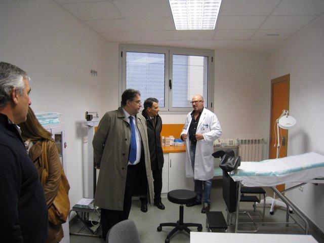 Tomás Tenza Inaugura La Ampliación Del Centro De Salud De Villarroya